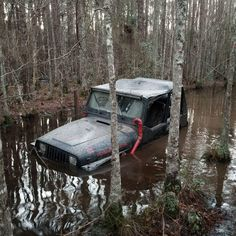 Don't get stuck in your Jeep like this guy! Check out our store for Suspension and Wheel Upgrades!