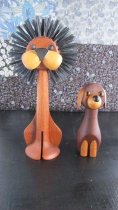 leeuw en hond design Gunnar Florning - Laurids Lonborg