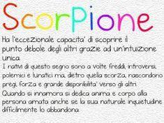 segno zodiacale scorpione -