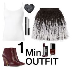 """""""1 Min OUTFIT #7"""" by ce-zara on Polyvore featuring Chloé, Alice + Olivia, The Row and Chanel"""