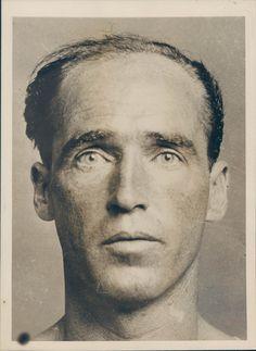 1939 Photo WW2 Era William McGuiness Convict Crime NY Escape Prisoner Portrait