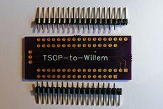 Programming the 29F032 on a Willem GQ-4X programmer.