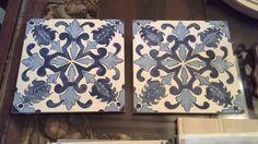 Réplica azulejo portugués en madera muy presentes en la arquitectura y decoración de inmuebles (fachadas e interiores)