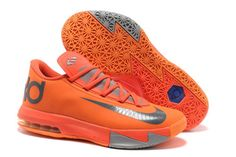 "bd158a55609d Mens Kevin Durant Shoes Nike KD 6 ""Netherlands Orange""Colorways Kd 6 Shoes"