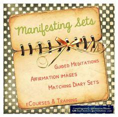 #Manifesting Sets http://jmcveyc.ht/1nwZJ5Q #Psychic Classes #GuidedMeditations Complimentary #Affirmation eBooks
