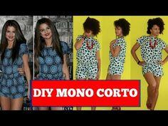 Como Hacer un DIY Mono Corto inspirada por Selena Gomez - YouTube