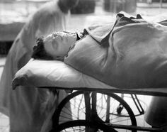 Tony Genna was the third Genna brother to die in a hail of gunfire in the spring and summer of 1925. Here, a Tribune photographer captured Genna as he appeared dead on the operating table of Cook County Hospital.
