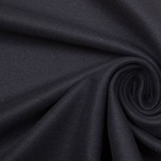 Theory Black Wool and Cashmere Coating Fabric by the Yard | Mood Fabrics