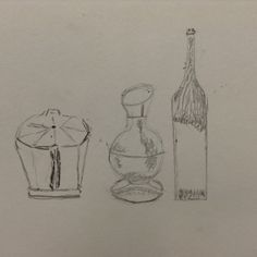 Drawing measurement still life session 5