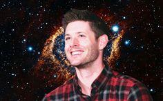 My edit #jensenackles #space #galaxy