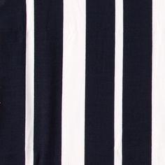 Vevet crepe viskose navy/natur striper