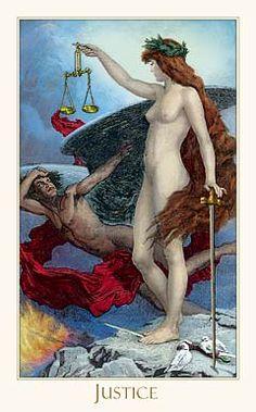 Justice - Victorian Romantic Tarot by Alex Ukolov, Karen Mahony Vampires, True Tarot, Justice Tarot, Libra Love, Libra Man, Libra Zodiac, Aquarius, Lady Justice, Tarot Major Arcana