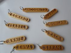 Happy Summer Sundays by Ifigeneia Margariti on Etsy Name Keyrings, Keychains, Laser Cutter Ideas, Linseed Oil, Happy Summer, Mother Nature, Home Crafts, Best Sellers, Wood Projects
