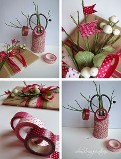 Ideas and Inspirations: DIY Geschenkverpackungen (4) * diy gift packaging