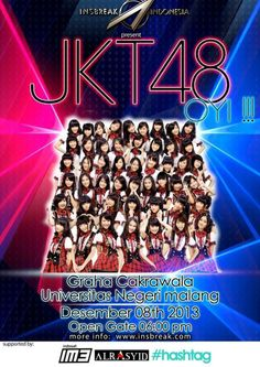 Ini acara JKT48 Buat tnggal 8 Desember 2013 Di Graha Cakrawala Di UM Malang