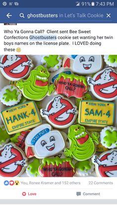 Ghostbusters cookies
