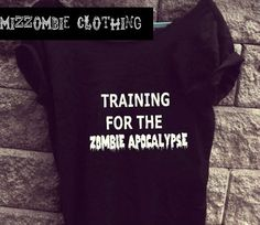 Cute off the shoulder top. Perfect for the zombie fanatic. https://www.etsy.com/listing/181336095/zombie-tshirt-off-the-shoulder-over