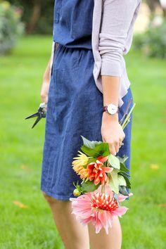 Denim Staple Dress // Delia Creates