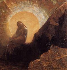 Odilon Redon「Melancholy」(1876)