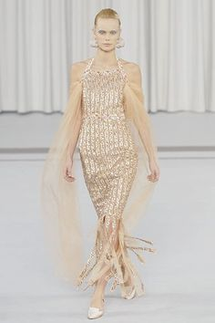 Chanel Spring 2007 Couture Fashion Show - Dewi Driegen