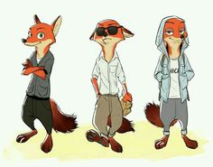 ~Nick Wilde Outfits~