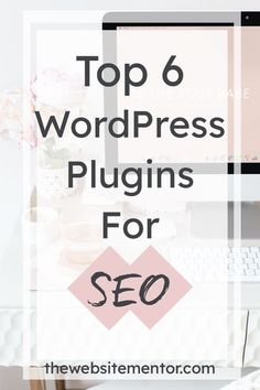 6 WordPress Plugins To Help Optimise Your Website for SEO and speed. If you want to achieve good optimisation for your website, adding the right plugins will help it reach a higher level of SEO status. With hundreds of plugins to choose from, see my 6 must have to help you boost the speed and SEO levels of your website. WordPress Plugins for Beginners   WordPress Plugins for Business   Website SEO Business Advice, Business Website, Tiny Apps, Digital Marketing Strategy, Online Marketing, Seo For Beginners, Successful Online Businesses, Seo Tips, Wordpress Plugins