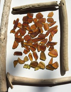 amber love Mass Seaglass Collection