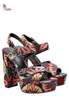 next Femme Sandales Compensées À Talons Hauts Standard Rose EU37 - Chaussures next (*Partner-Link)