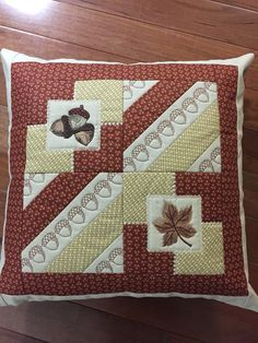 Anita Goodesign pillow Made by Penny Hill