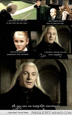 Jason Isaacs on how he approached the character of Lucius Malfoy