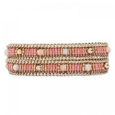 Bracelet HIPANEMA Eternity, Pink Hipanema