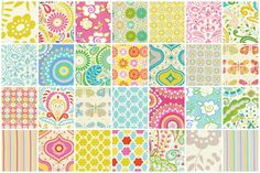 Kumari Gardens by Dena Designs Custom Baby Bedding, Baby Girl Bedding, Crib Bedding Sets, Baby Cribs, Garden Baby Nurseries, Marjolein Bastin, Nursery Crib, Girl Nursery, Girl Room