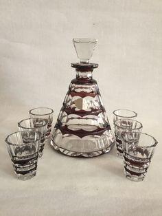 Crystal Decanter, Addiction, Perfume Bottles, Crystals, Glass, Vintage, Decor, Decorating, Drinkware