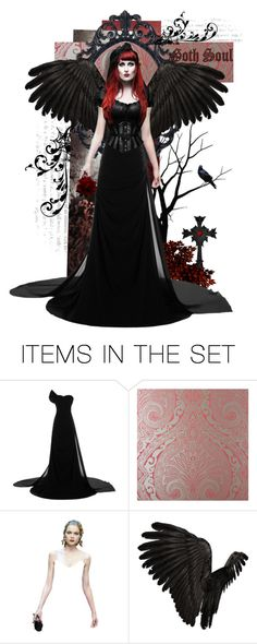 """""""Goth Soul"""" by kyckastra ❤ liked on Polyvore featuring art"""