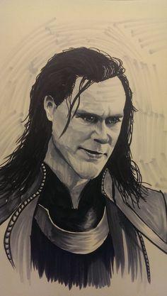 Loki marker practice by wsjoop1119.deviantart.com on @deviantART