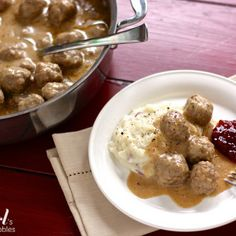 Swedish Meatballs Recipe | Key Ingredient