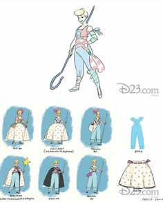 Pixar Concept Art, Disney Concept Art, Toy Story Series, Toy Story 3, Disney Magic, Disney Art, Bo Peep Toy Story, Character Art, Character Design