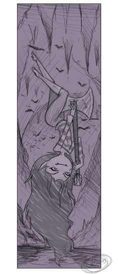 Marceline sketch by 14-bis.deviantart.com on @deviantART