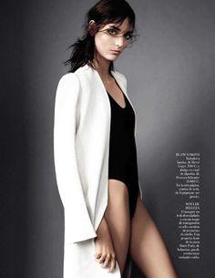 'Estado Puro' by Victor Demarchelier for Vogue Spain, March 2014