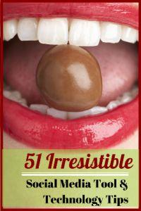 Social Media Tips: 51 Irresistible Social Media Tool and Technology Tips - http://www.razorsocial.com/social-media-tips/