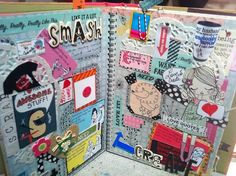Smash Book Folio pages