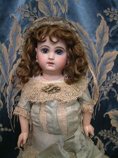 """18.5"""" EJ Jumeau All Original French Bebe  from Kathy Librarty"""