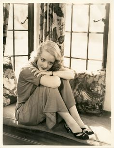1930s - Bette Davis had such star quality and brilliant acting skills. There is no one like her. You can't take your eyes off her in any of her great movies.