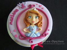 Doces Opções: A Princesa Sofia no 3º aniversário da Mariana