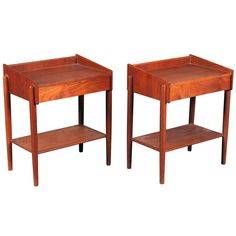 Mid Century Bedroom, Modern Side Table, Table Furniture, Teak, Mid-century Modern, Pairs, Bedside Tables, Retro, Antiques