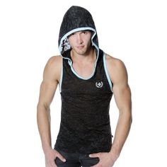 761f8c4c131eb Andrew Christian Men s Skinny Core Hoodie Tank Christian Men