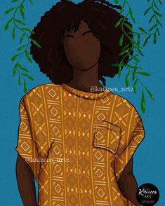 #kaizeea_artz #bogolan #mauritius🇲🇺 #afroart #africa #africanwomen #afrowoman #nappyhair #nappy #drawingwhileblack #bouboustyle #tissuafricain #pagneafricain #plante #drawingwhileblack #artillustration #graintexture #digitalartist #artistsoninstagram #supportblackbusiness #loveart #hairstyles #curlyhair #cheveuxnaturels Black Characters, Art Corner, Afro Art, Black Pride, Mauritius, African Women, How Beautiful, Love Art, Daydream