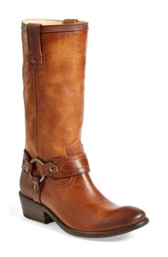 b60ac7022faa Women s Frye  Carson Harness  Western Mid Calf Riding Boot