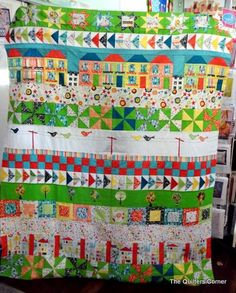 The Quilters Corner: Spring Street Row of the Month Quilt