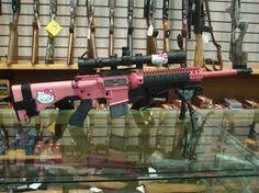Hello Kitty assault rifle